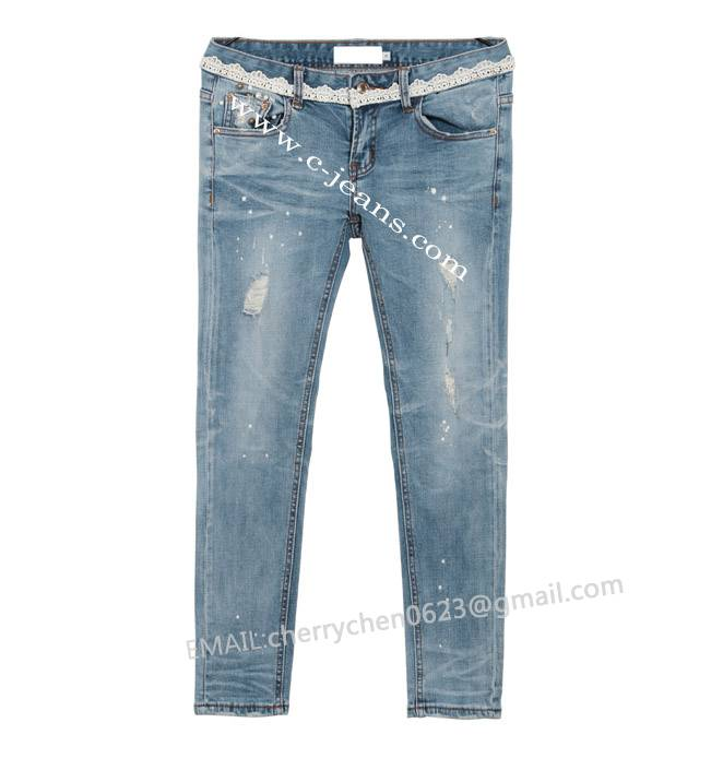 2014 Lady's Newest Fashion Straight Jeans. Fashion New Trousers Jean Long Pant Western Women Jeans