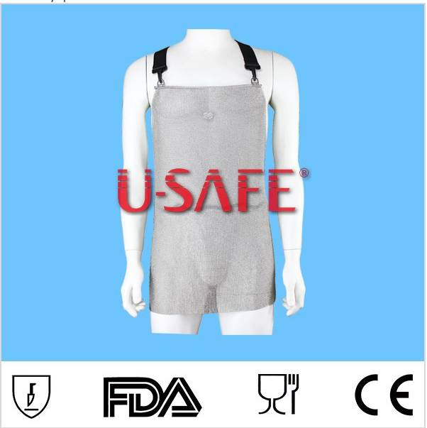 Chain mail ring mesh shirts for butcher safety wear