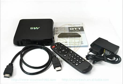 Newest Quad Core M8 IPTV Box Canada