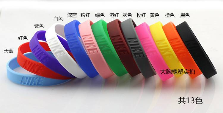 customized silicone bracelets, silicone rubber bands, silicon wristbands OEM ODM