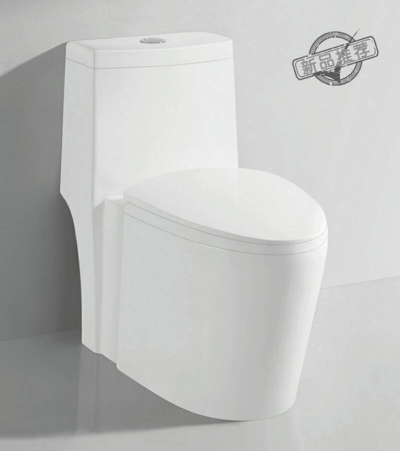 TA-8162 Sanitary Ware Dual Flush Siphon Jet Flushing One-piece Ceramic Toilet