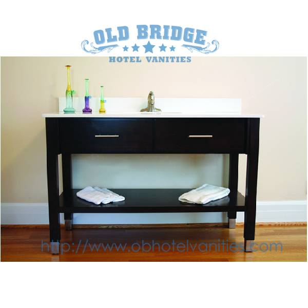 High quality Hand Made bathroom  Vanity Base with wooden legs