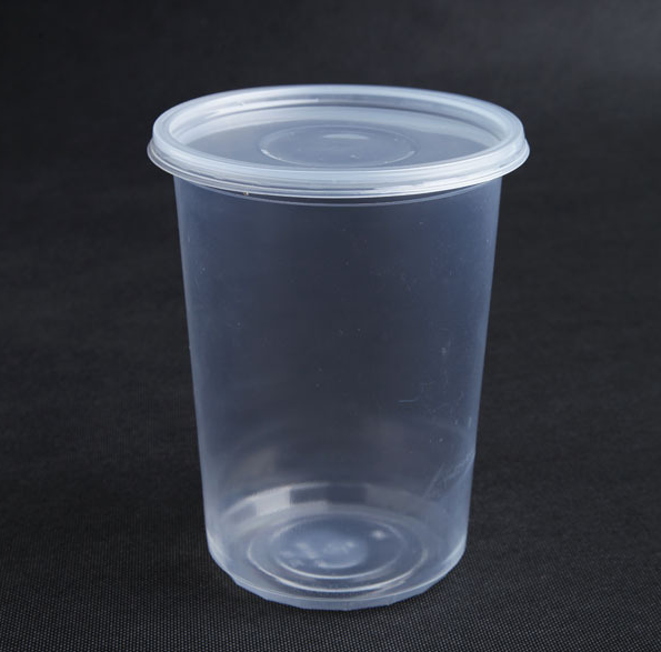 2017 Clear Smoothie Plastic Cup with Dome Lids