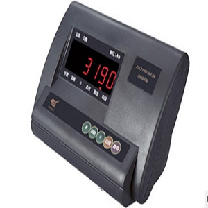 A12E indicator for small bench scale platform scale