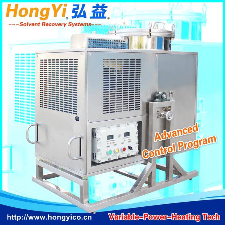 banana oil solvent recycling plant