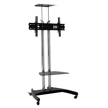 Steel TV mobile cart for display up to 65 inch AVRD800S