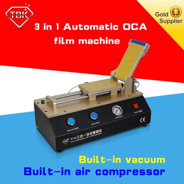 3 in 1 LCD repair OCA film laminating machine with vacuum pump