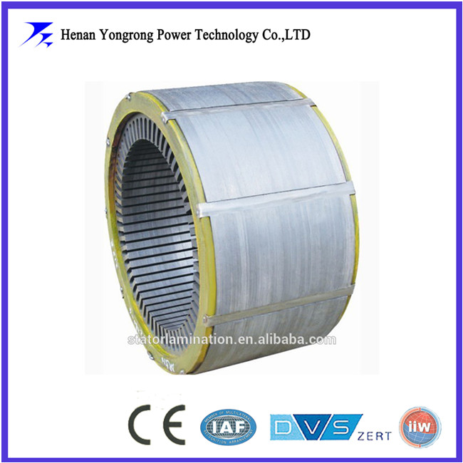 Customrized silicon steel laminated iron core for motor stator rotor