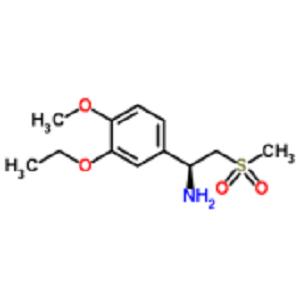 (alphaS)-3-Ethoxy-4-methoxy-alpha-[(methylsulfonyl)methyl]-benzenemethanamine (cas 608141-42-0)