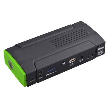 12,800mA Multifunction Car Jump Starter with LED