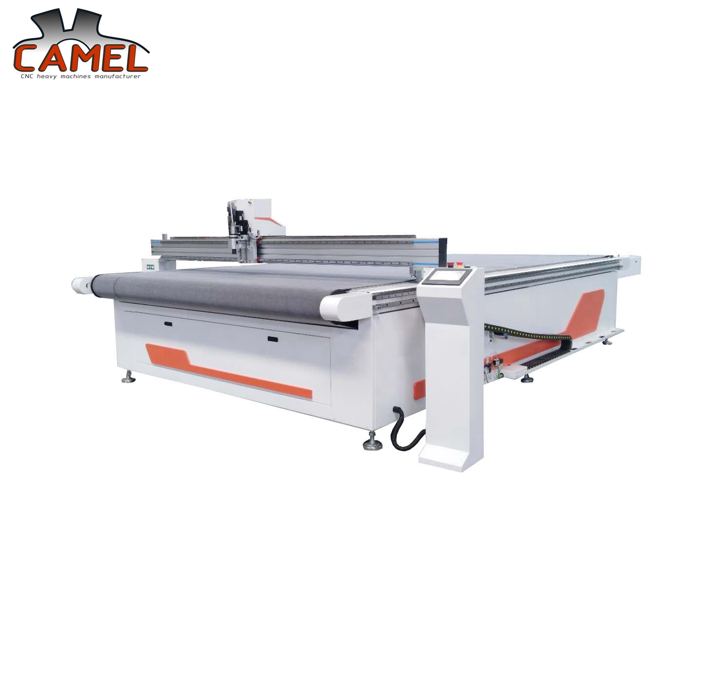 Good quality CAMEL CNC car foot mat automatic loading cnc CA-1625 cloth digital knife cutting m
