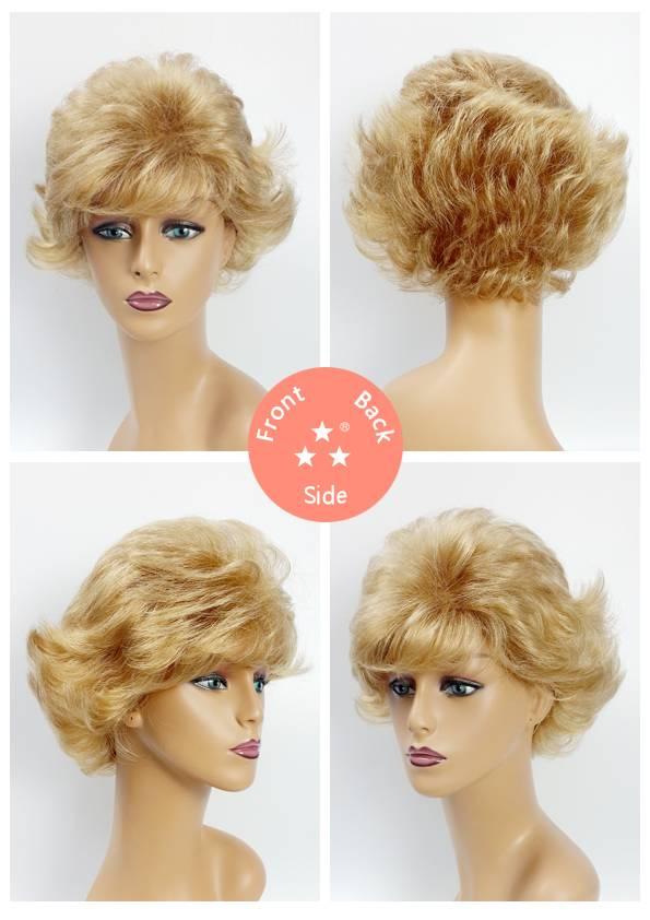 Female / Synthetic Wig Style No. 2225 Stylish/Short/Wave