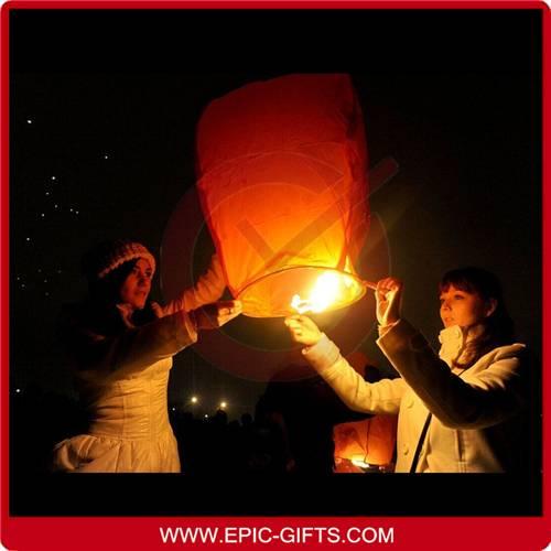 Wish lanterns sky lanterns flying lantern
