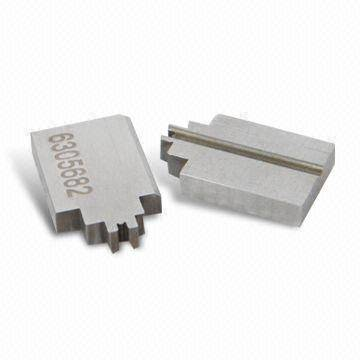Precision Custom Tooling Components With Laser Etched Part Number