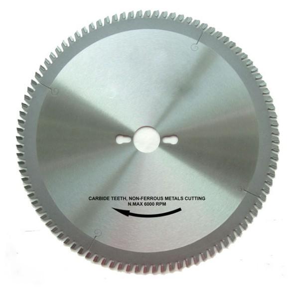 TCT non ferrous cutting circular saw blade