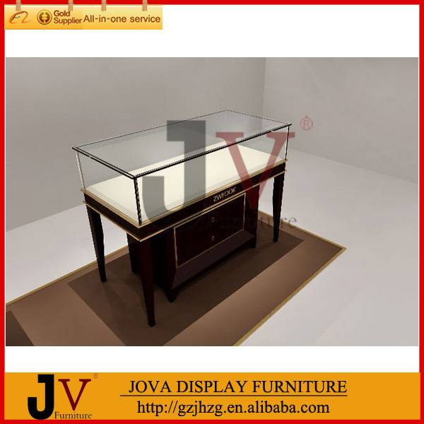 Custom made jewelry store display case and antique showcase
