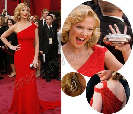 Charming RED women's dress for the ball/prom,size freed