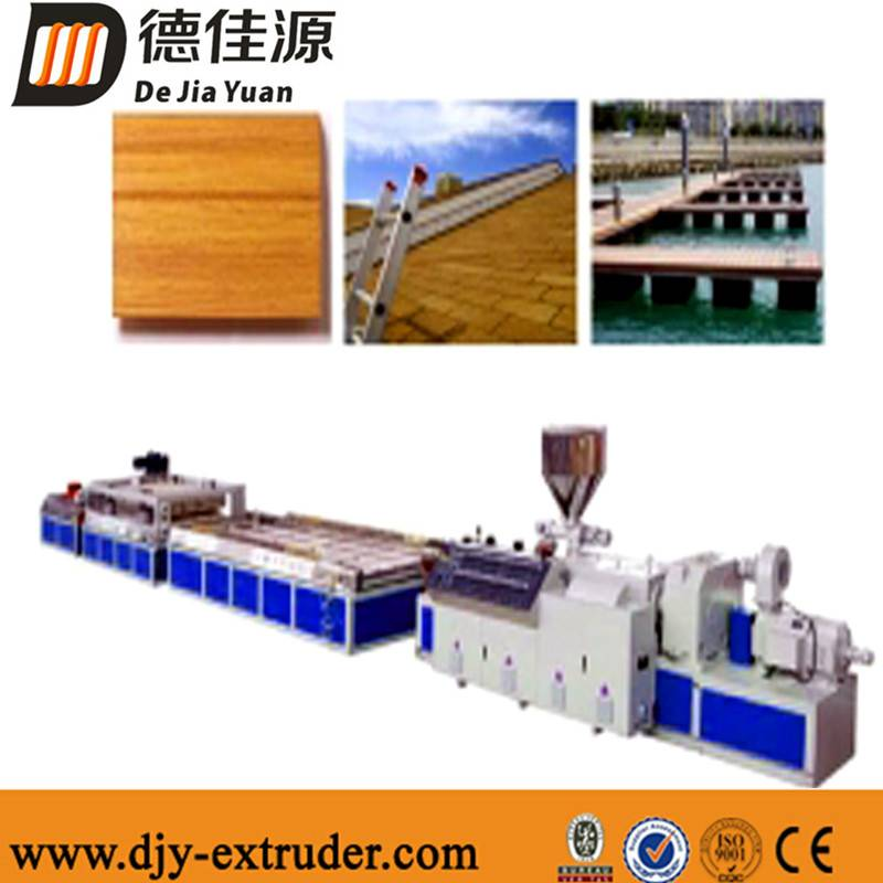 Plastic PE pinch board/ceiling extrusion production line