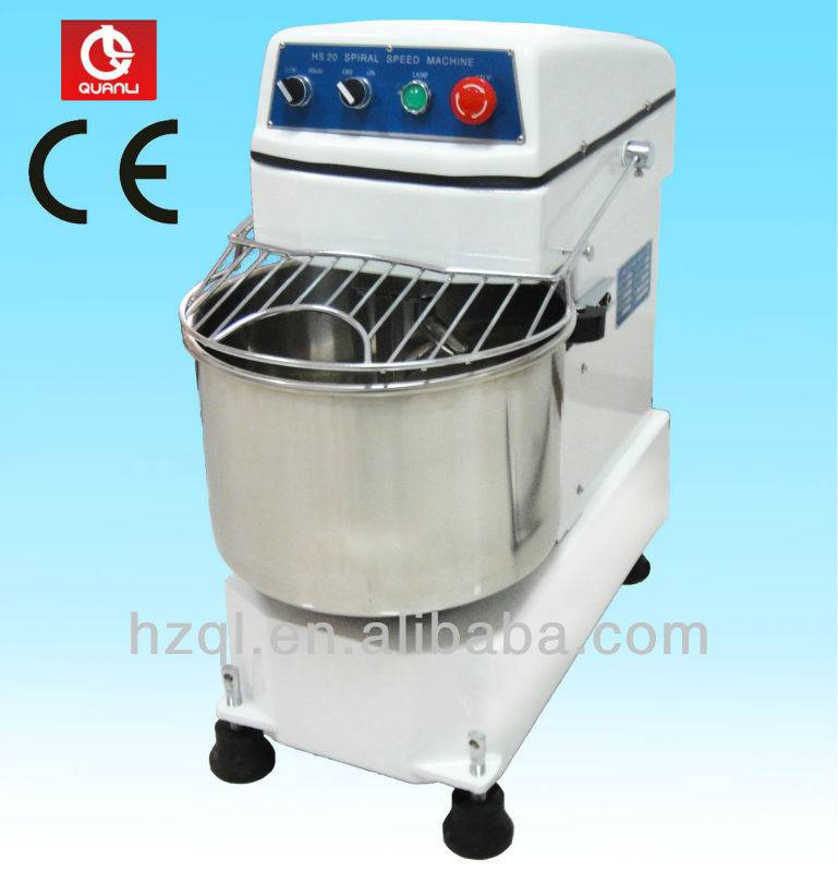 20L spiral mixer with double motion