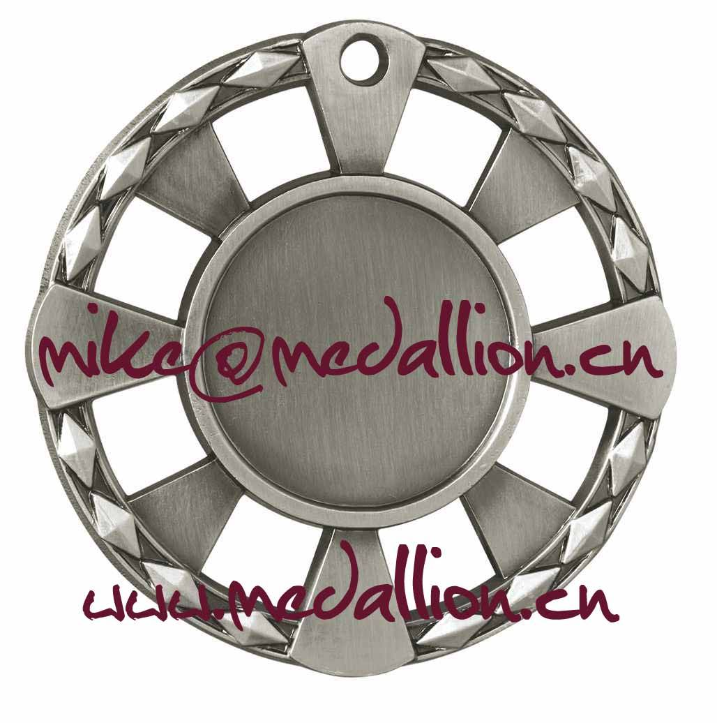 Round cut out blank medal