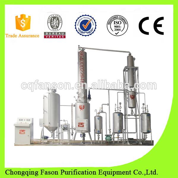 Automatic Feeding And Slag-Discharge System And High Efficiency Waste Oil Distillation Machine