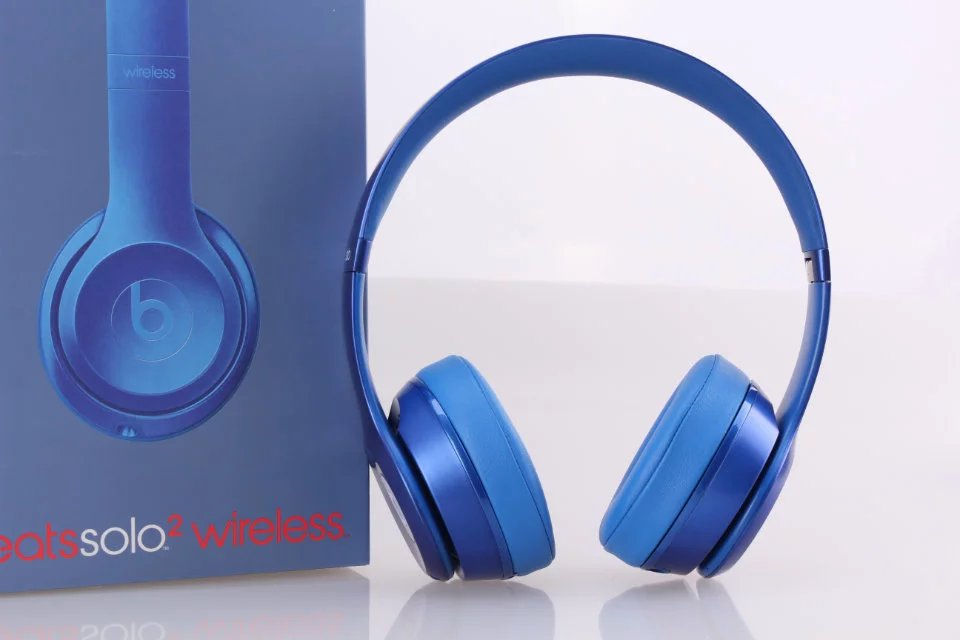 Beats Solo2 Wireless Headphone Blue