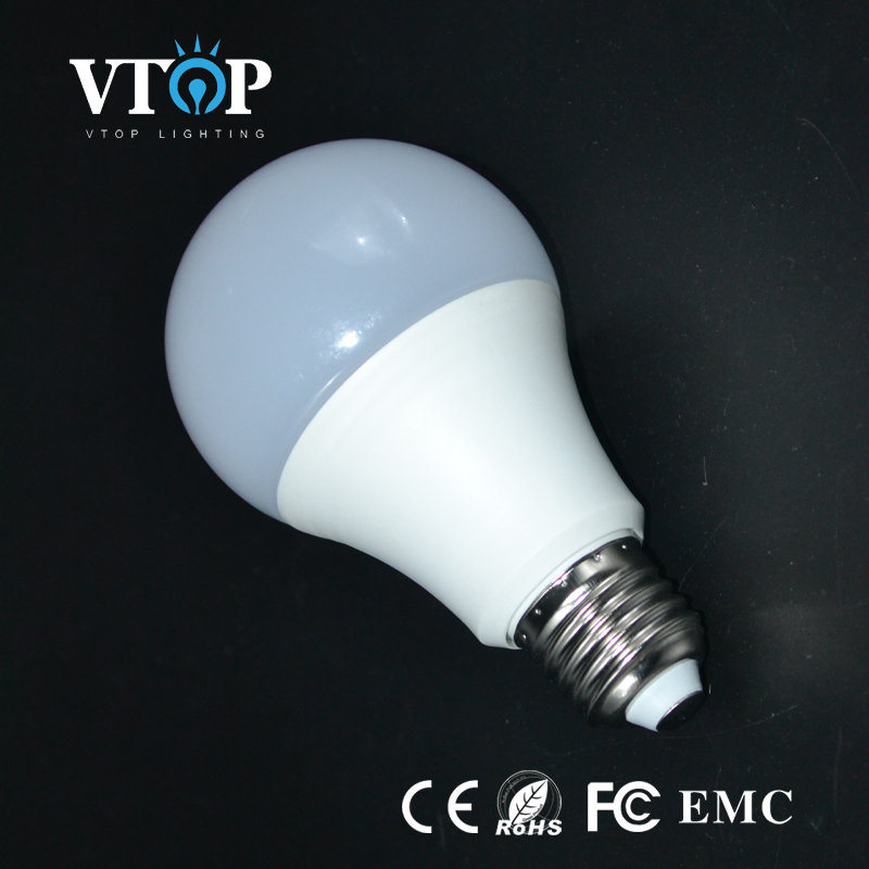 A60 12W Led Bulb Non-dimmable High PF 3000K 6500K with CE