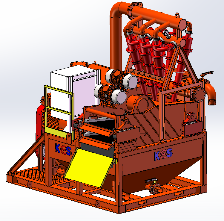 HDD pipe-jacking microtunneling slurry separation plant
