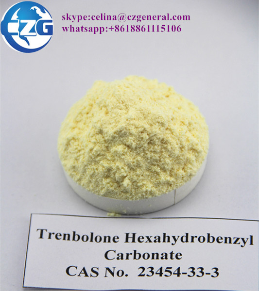 CAS: 23454-33-3 Pure Anabolic Steroid Hormone Powder Trenbolone Hexahydrobenzyl Carbonate