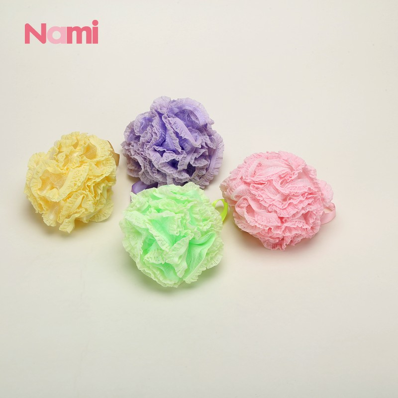 Nami Customized Loofa Soft Large Mesh Shower Sponge Cellulose Facial Cleansing Sponges