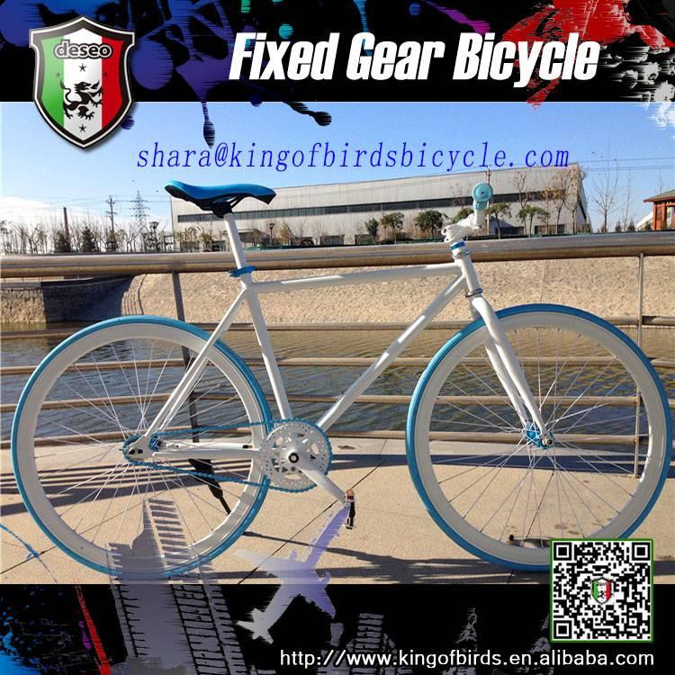 latest bike 700c single speed fixed gear bike higher quality road bike chinese supplier