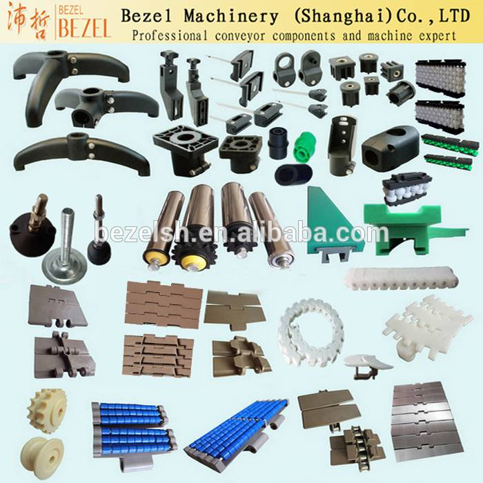 Beverage industry plastic support base, conveyor parts
