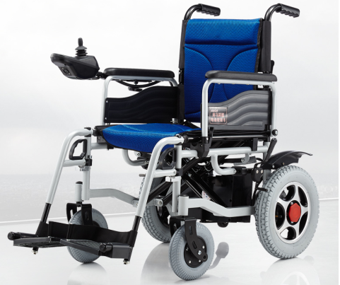 Electric Wheelchair with Electromagnetic brake system