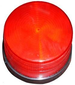 Wireless siren with strobe light   (ABS-17)