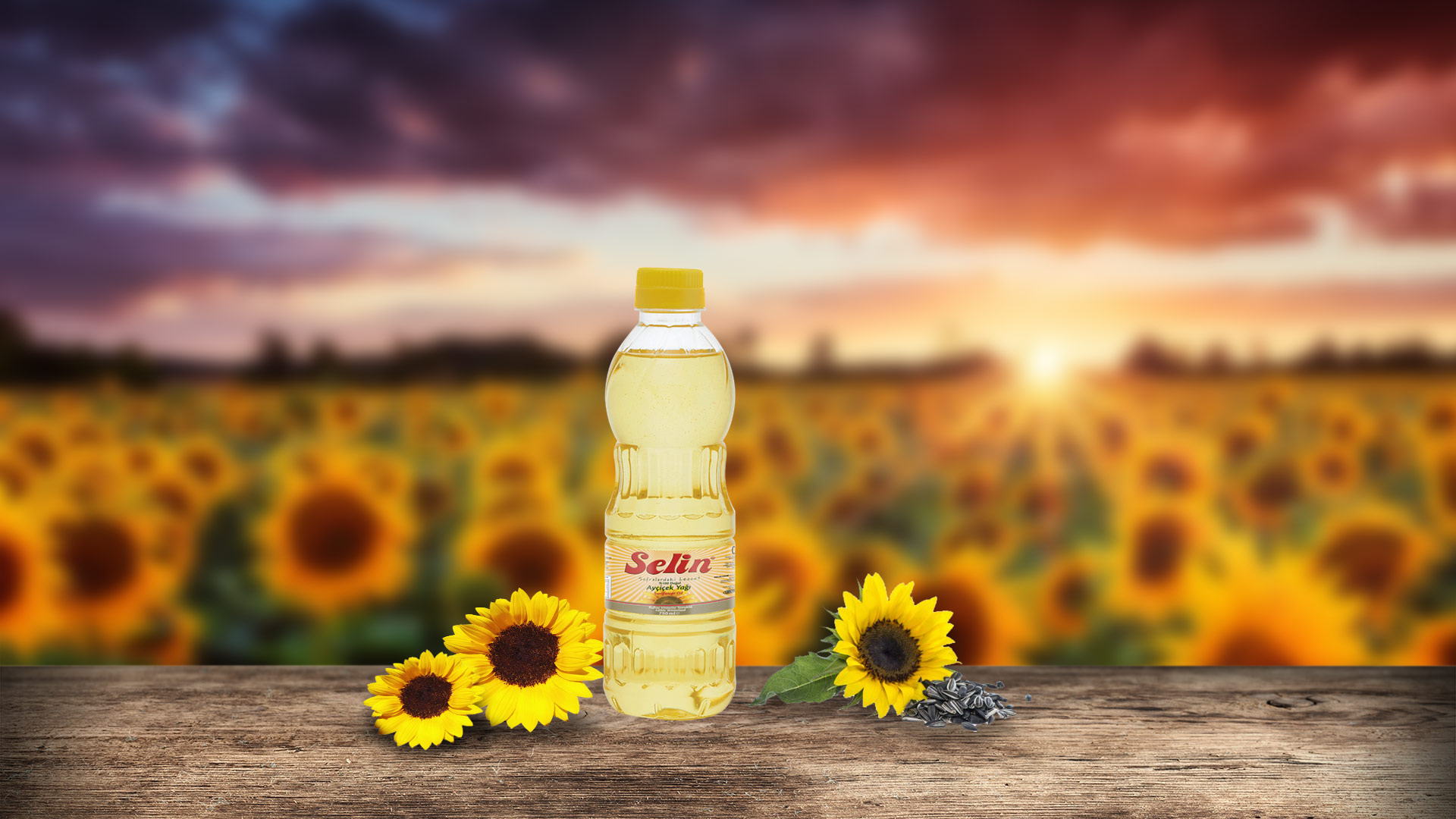 Refined Sunflower Seeds Oil