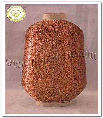 MH-type color metallic yarn
