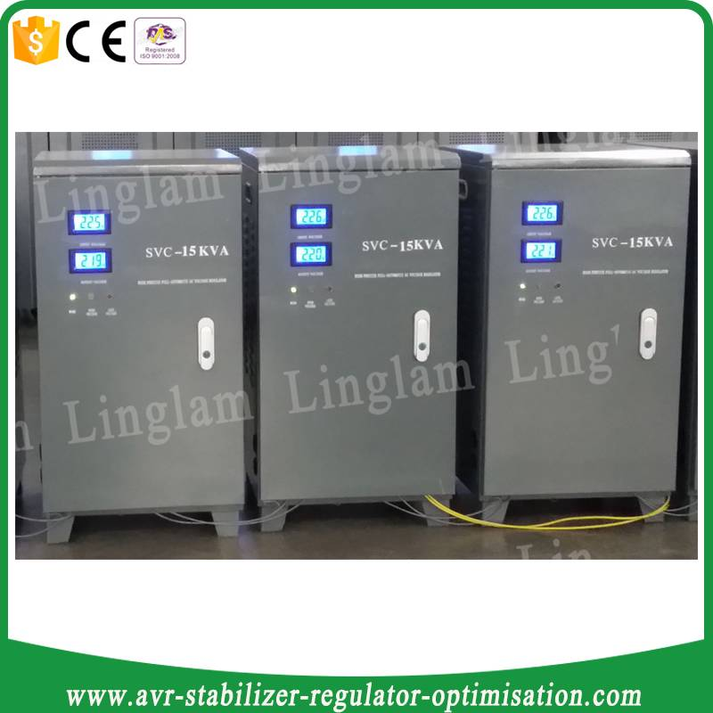 single phase ac automatic voltage regulator 15 kva