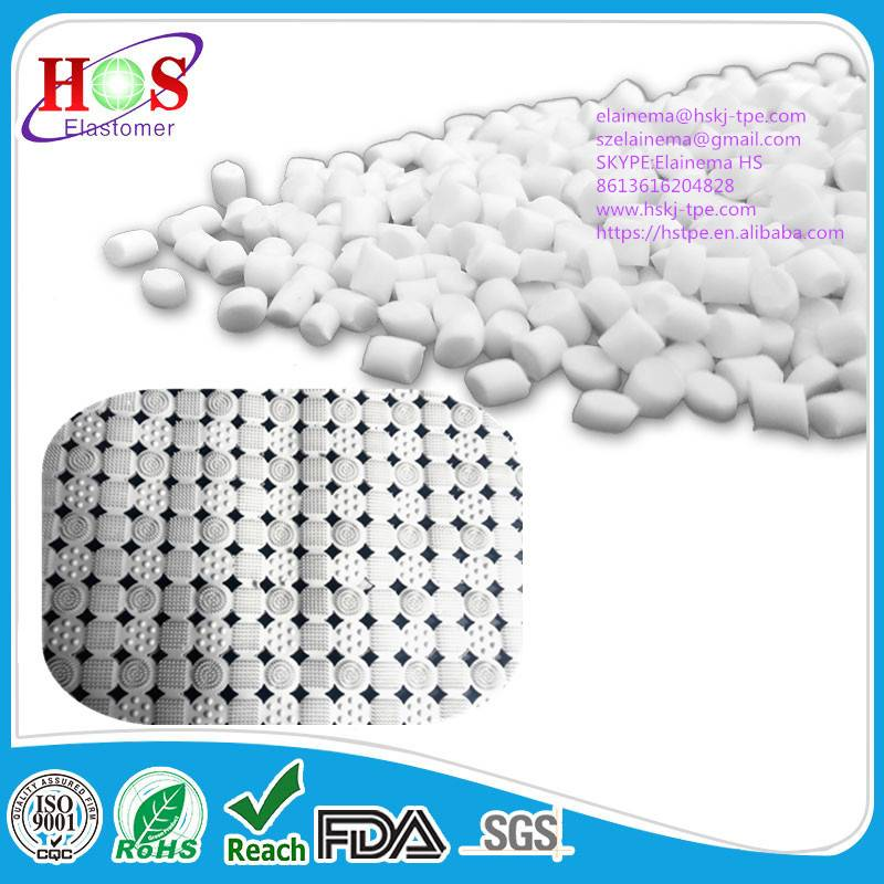 TPE material/granules for bath mats