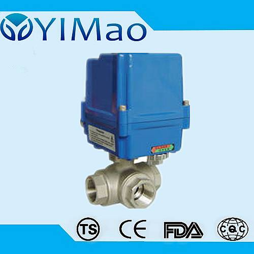 3way Electric Actuated Ball Valve
