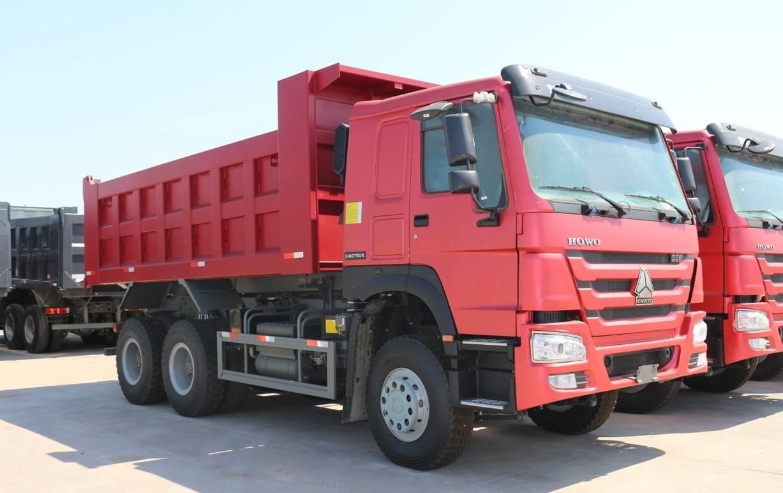 sinotrucks howo dump truck