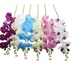 SF01089 artificial orchid flowers,6colors for wedding choosing