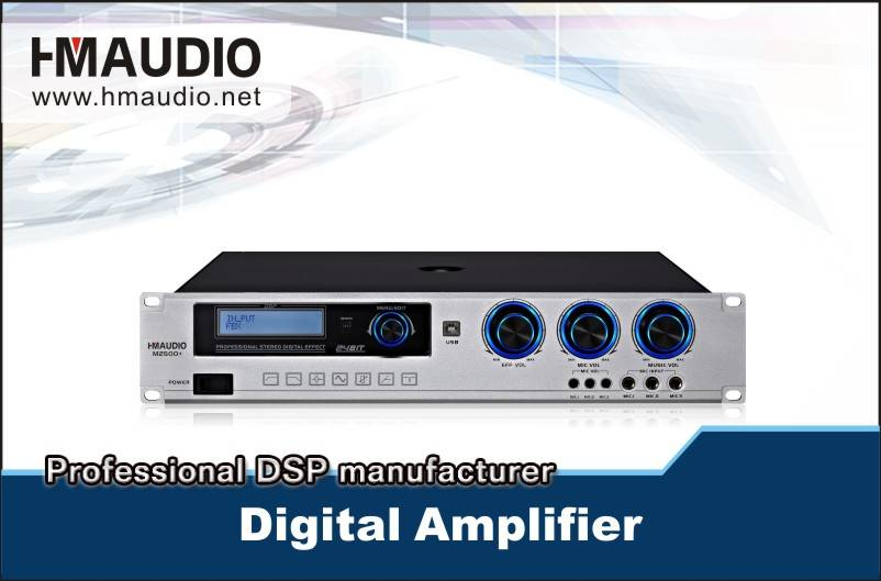 M2500 DSP karaoke amplifier 500W
