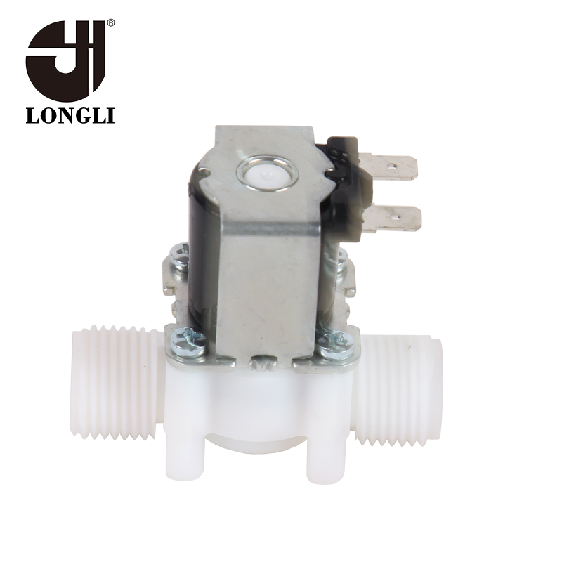 Mini Normally Close Plastic Thread Solenoid Valve