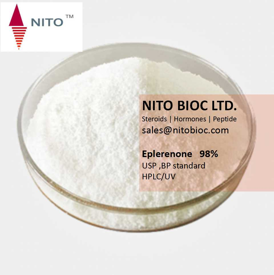 Hot Sell High Strong Steroid Powder: Eplerenone with CAS No: 107724-20-9