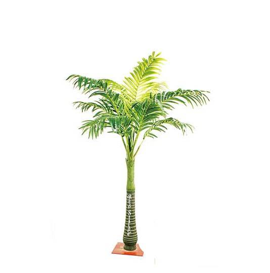 fake green plants artificial Areca catechu tree