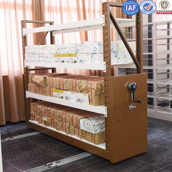 Movable Storage Rack System for warehouse