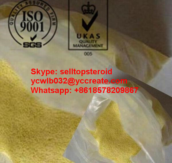 Legal Injectable Bulking Cycle Steroids Methyl trenbolone Light Yellow Powder