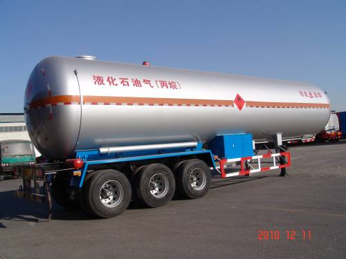 59700L LPG tanker semi trailer