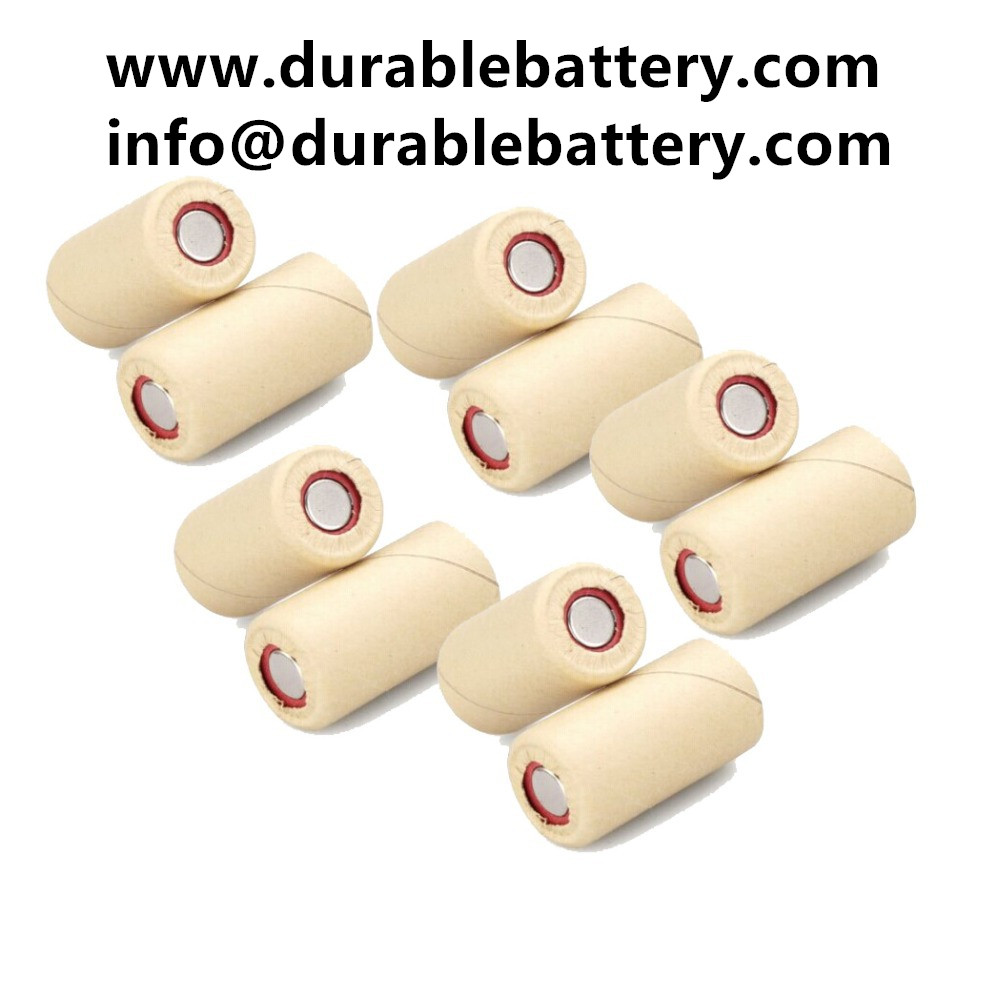 NiCD 1.2V SC 2000mah Ni-Cd rechargeable battery cell with brown paper for power tool