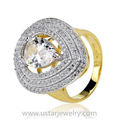 Popular Ring Jewelry With 925 Sterling Silver Engagement Ring